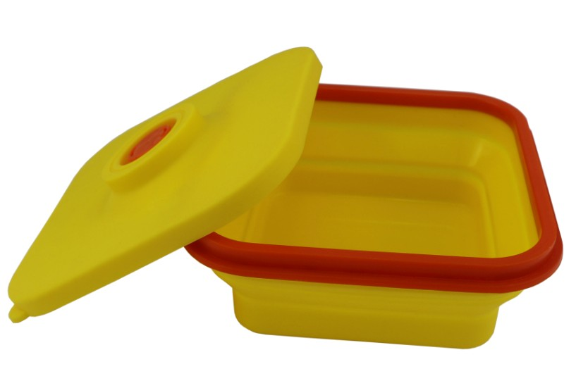Silicone Collapsible Lunch Box(HS-1089)