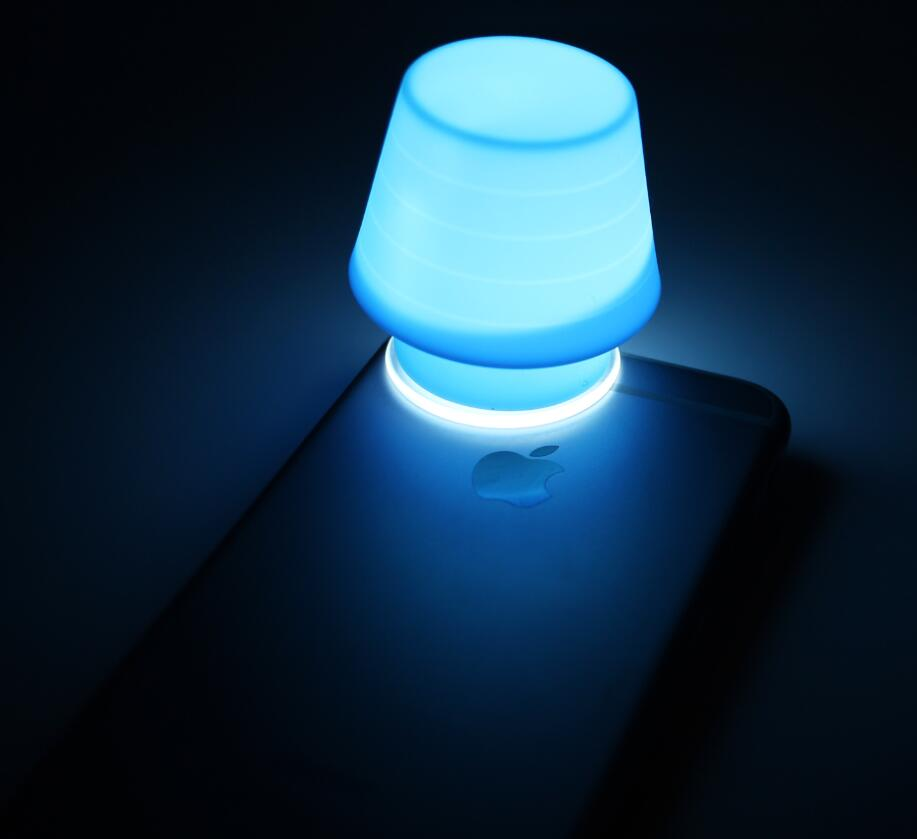 Silicone Mobile Phone Lamp(HS-1179)